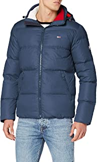 Tommy Jeans Men's Essential Down Puffer Jacket, Blue