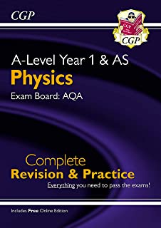 A-Level Physics: AQA Year 1 & AS Complete Revision & Practice with Online Edition