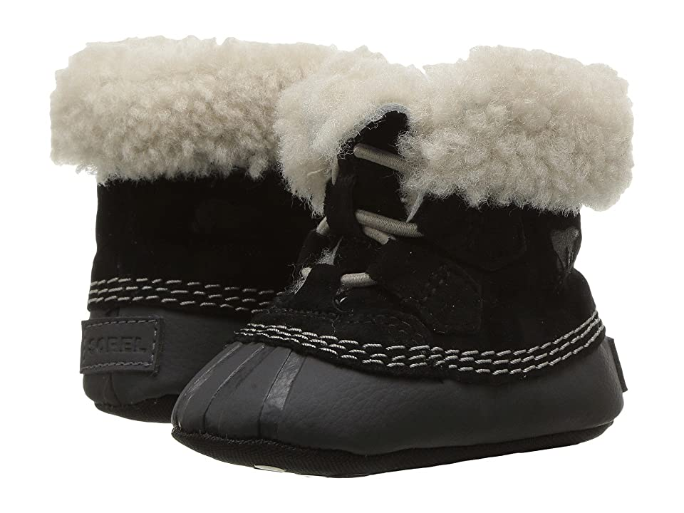 SOREL Kids Caribootie (Infant) (Black/Kettle) Kid