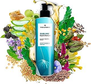 SUBLIME Champu Hidratante I Tratamiento Hidratante Cabello I Tratamiento pelo Seco y Dañado I Cosmética Natural Champu si...