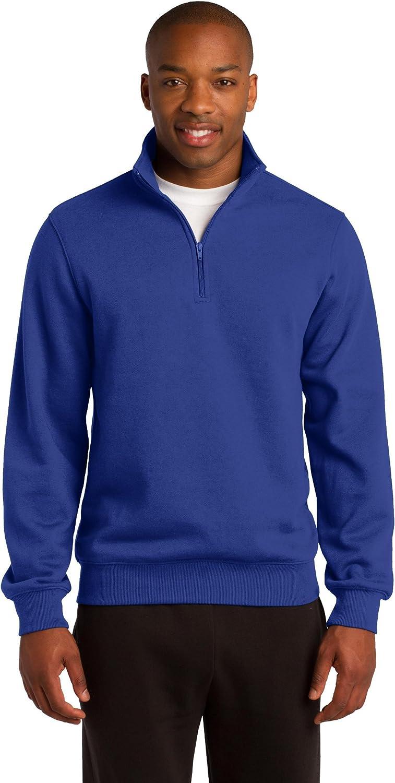 Sport Tek 1 Max 44% OFF 4-Zip SALENEW very popular Sweatshirt. ST253