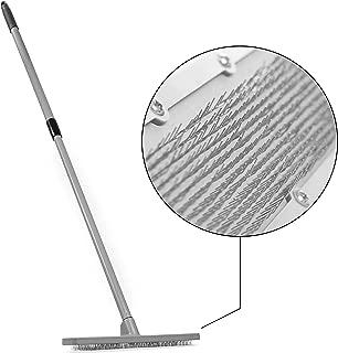 Quality Line Universal Carpet Rake | Effective & Safe Pet Hair Removal | User-Friendly Rug & Carpet Cleaner | Ergonomic & Unique Design | Features a 4 Ft Extendable Pole