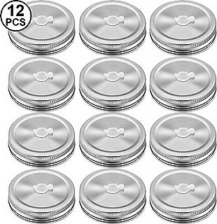 Best plastic mason jar lids with straw hole Reviews