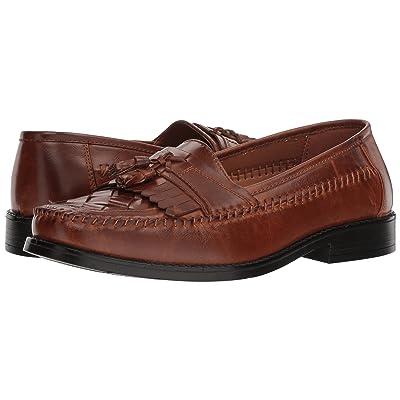 Deer Stags Herman Tassel Loafer (Cognac Simulated Leather) Men