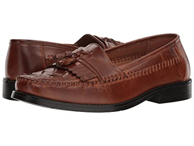 Deer Stags Herman Tassel Loafer (Cognac Simulated Leather) Men