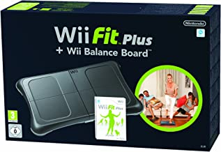 WII FIT PLUS GAME WITH BALANCE BOARD(BLACK) PAL