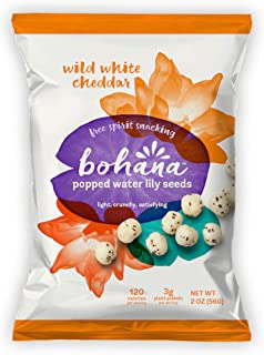 Sponsored Ad - Bohana Wild White Cheddar, 6 Pack | As Seen On Shark Tank | Gluten-Free High-Protein All Natural Super Snac...