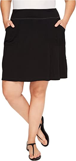 Plus Size City Skort