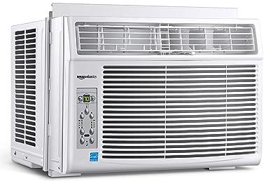 Amazon Basics Window Air Conditioner Cools 250 Square Feet, 6000 BTU, Energy Star