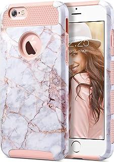 ULAK Funda para iPhone 6S, iPhone 6, serie colorida delgada híbrida, de doble capa, resistente a los arañazos, cubierta tr...