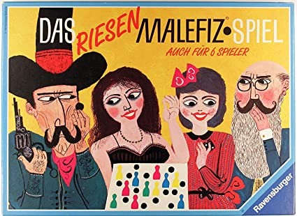 Malefiz Ravensburger 100/% Vollständig TOP Zustand 1256
