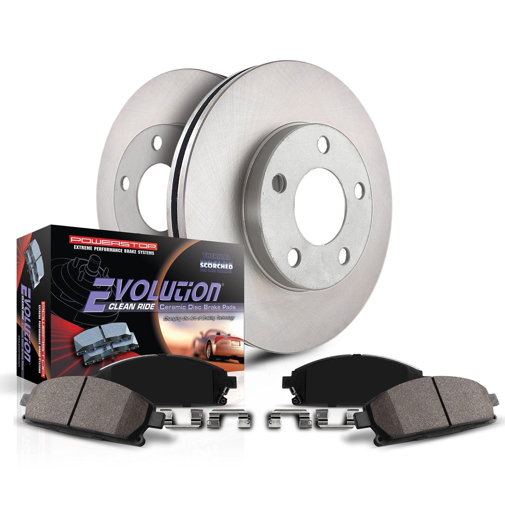 Max Brakes Front /& Rear Elite Brake Kit E-Coated Slotted Drilled Rotors + Metallic Pads TA052983 Fits: 2013 13 Dodge Avenger SXT Models w// 262mm Rear Brake Rotors
