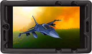 BobjGear Carcasa Resistente para NVIDIA Shield Tablet K1 - Bobj Funda Protectora (Negro)