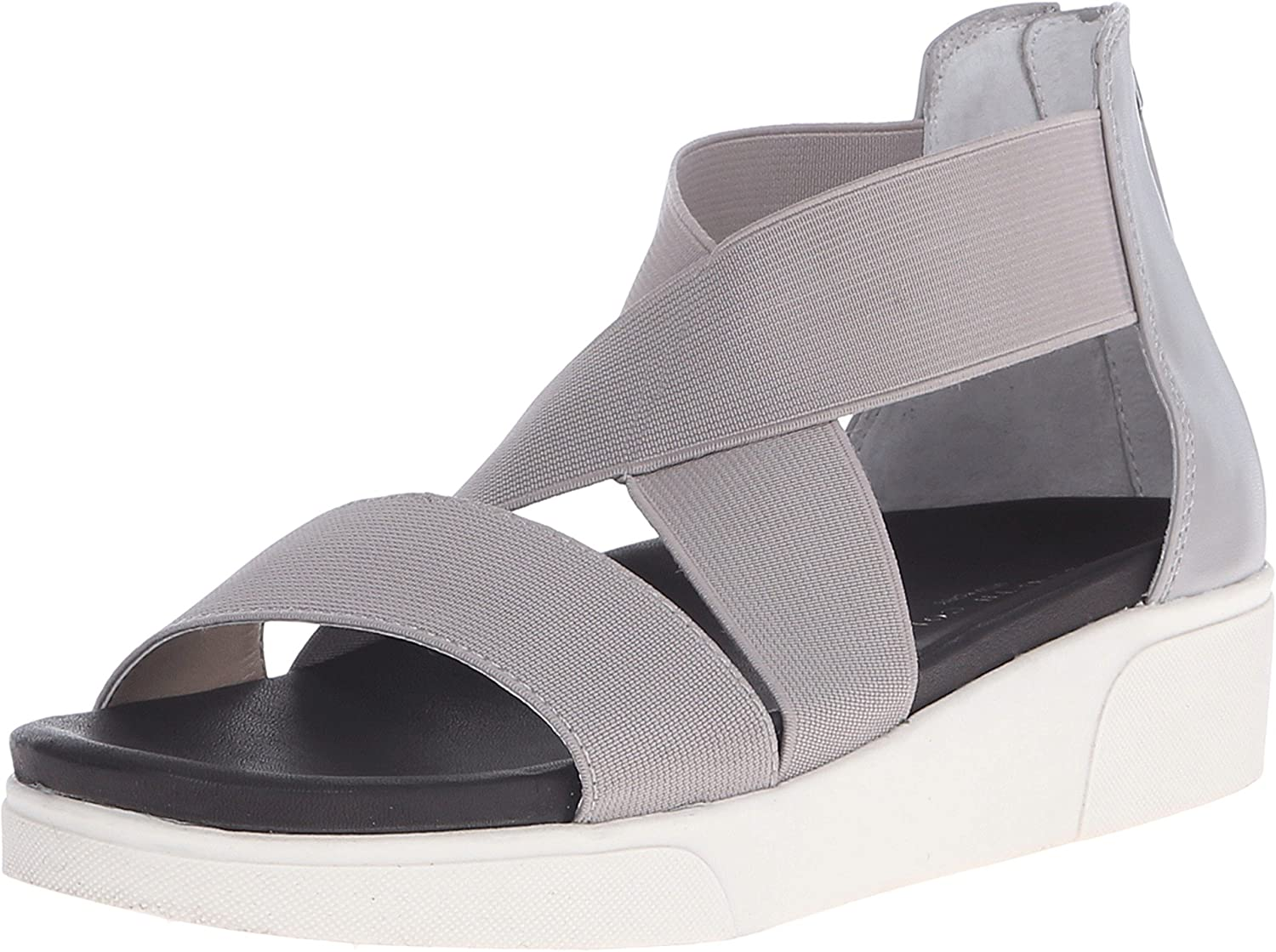Kenneth Cole New York Women's Lincoln LE Stone Sandal 8.5 M Grey