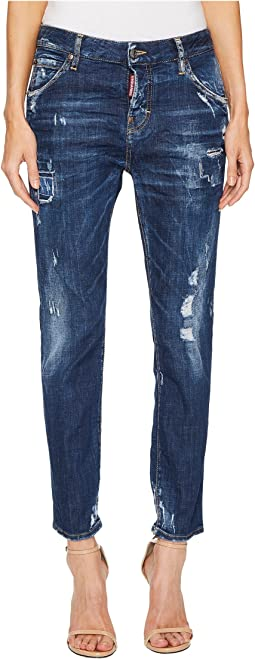 DSQUARED2 - Cool Girl Steam Roller Medium Wash Jeans in Blue