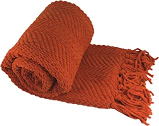 Best rust coloured throw Reviews