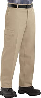 Red Kap Men's Stain Resistant Relaxed Fit Industrial Cargo Pants