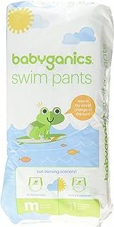 babyganics Color Changing Disposable Swim Diaper (Medium)