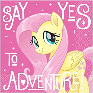 """My Little Pony """"Say Yes To Adventure"""" Stamp Beverage Napkins - 16pc"""