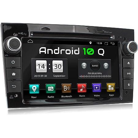 Xomax Xm D03la Autoradio Mit Android 10 Passend Für Opel Corsa Astra Vectra Zafira Etc I 2 Gb Ram 32 Gb Rom I Gps Navigation Dvd Cd Usb Sd I Bluetooth 18 Cm