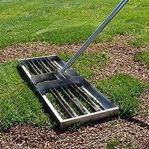 WSVULLD Golf Roestvrij stalen gazonniveau-tool met handvat, geschikt voor gazon golfbanen