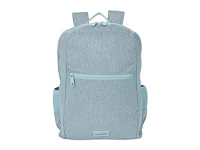 Vera Bradley ReActive Grand Backpack (Navy Mint Heather) Backpack Bags