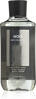 Bath & Body Works, Signature Collection 2-in-1 Hair + Body Wash, Noir For Men, 10 Ounce