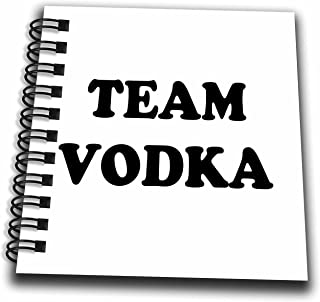 3D Rose Team Vodka Mini Notepad