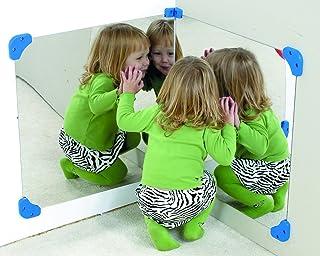 "Children's Factory Pair of 24"" Corner Mirror"