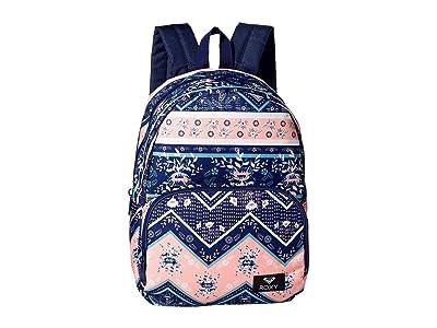 Roxy Always Core Backpack (Medieval Blue/Newport Border) Backpack Bags