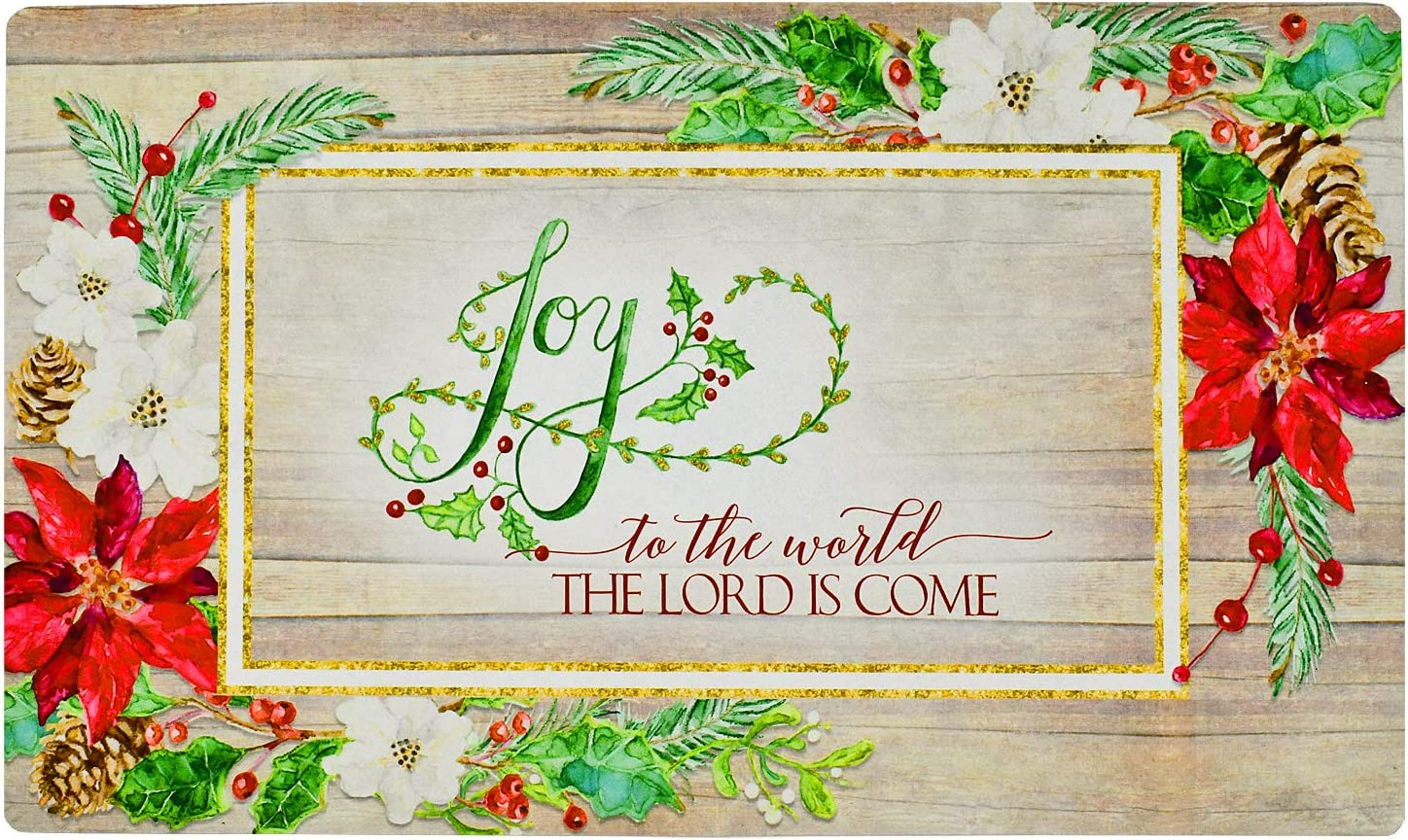 Kilipes Fashionable Christmas Decorative Door Holiday for Mats Welcome Large discharge sale