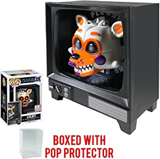 Funko Pop! Games: Five Nights at Freddy's Sister Location - LOLBIT 2017 NYCC Fall Convention Exclusive # 229 Vinyl Figure (Bundled with Pop Box Protector Case)
