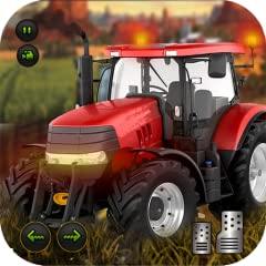 Virtual farming levels to complete in open world village environment Realistic vehicles: heavy duty tractors, plougher, harvester, tractor trolleys, cargo trucks Harvest multiple crops: Wheat Crop and Rice Crop Dynamic AI Traffic to deal while drivin...
