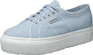 559a31e0479d Superga Women s 2790 Platform Sneaker Grey