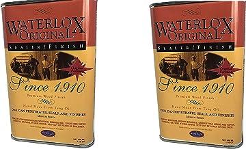 Title: Waterlox Original Sealer/Finish for Wood, Brick, Stone, Tile & More - 1 Quart (TB 5284) (Twо Расk)