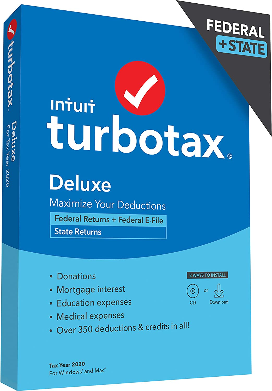 TurboTax Deluxe Discount Coupon Code