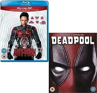 Ant-Man (3D + 2D) - Deadpool - Marvel 2 Movie Bundling Blu-ray