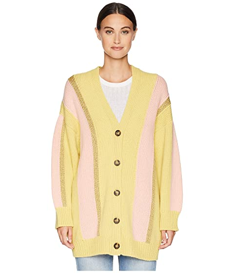 M Missoni Stripe Lurex Cardigan Jacket
