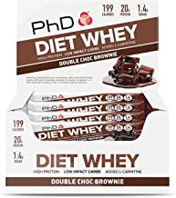 PHD DIET WHEY BAR DOUBEL CHOCOLATE BROWNIE 65 G