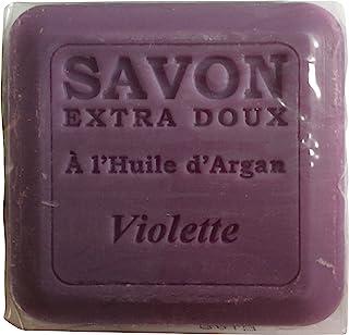 Plantes&Parfums [プランツ&パルファム] アルガンオイルソープ100g バイオレット