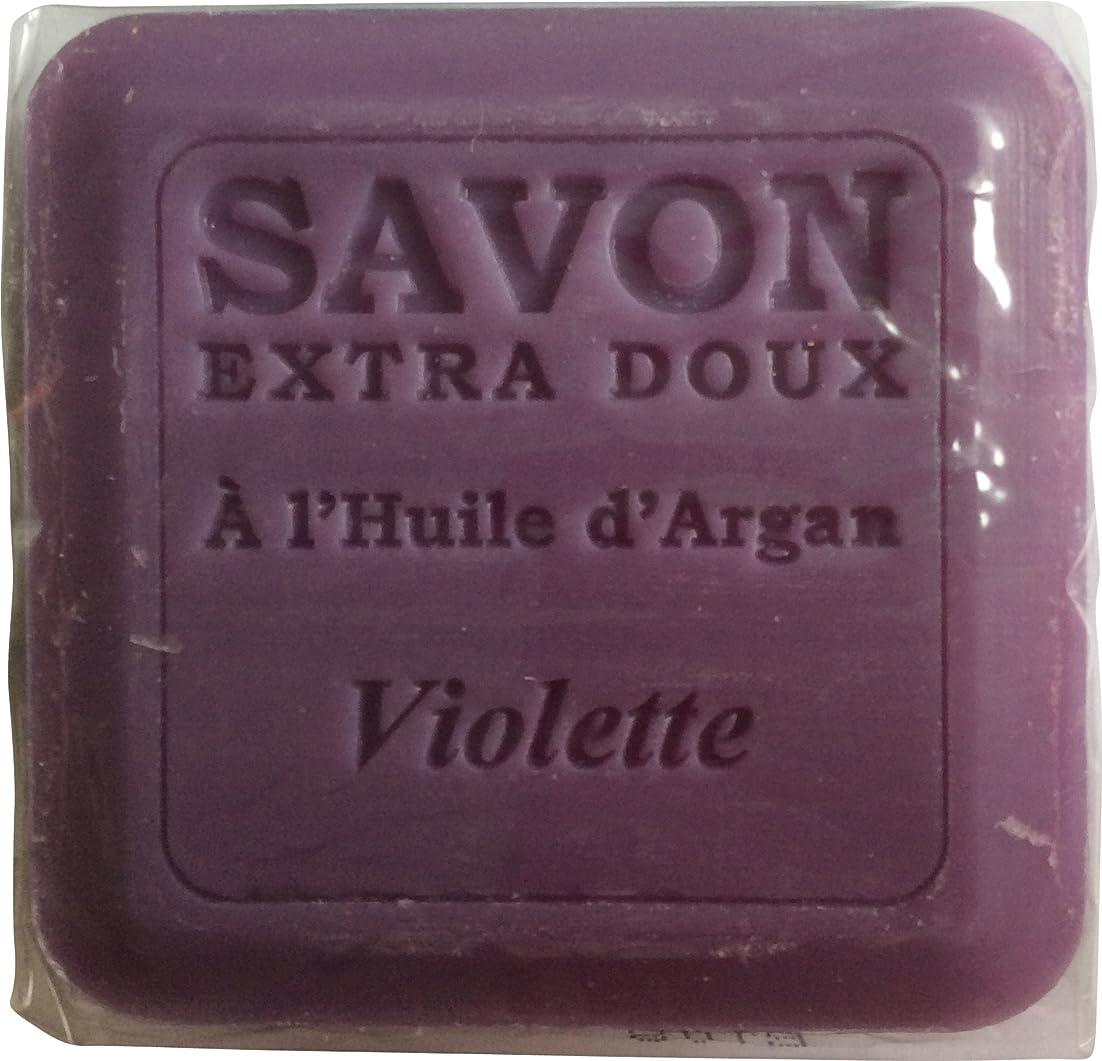 順番広大なコースPlantes&Parfums [プランツ&パルファム] アルガンオイルソープ100g バイオレット