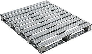 """40"""" L x 48"""" W Galvanized Steel Pallet"""