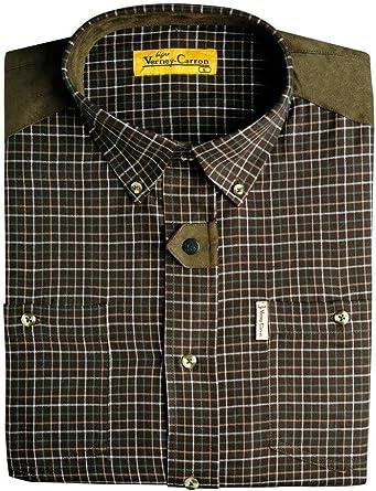 Ligne Verney-Carron - Camisa de caza Vitry, color marrón ...