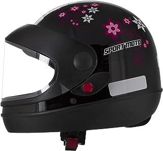 Pro Tork Capacete Sport Moto For Girls 58 Preto