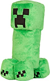 "JINX Minecraft Creeper Plush Stuffed Toy, Green, 10.5"" Tall"