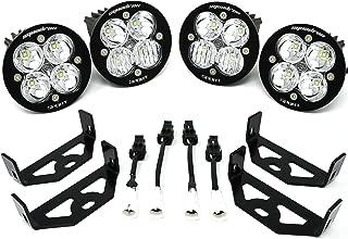 Baja Designs Yamaha YXZ1000R 4 Squadron-R Sport Combo & Spot Light Kit
