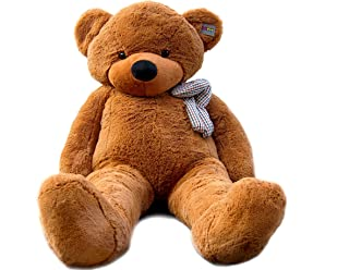 Gift Teddy Bear for Children and Female Huge Size 160CM (Brown)