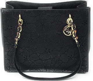 a4032fa657d5 Michael Kors Sofia Large Embroidery Tote Bag Susannah Black