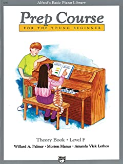 Alfred's Basic Piano Prep Course Theory, Bk F: For t