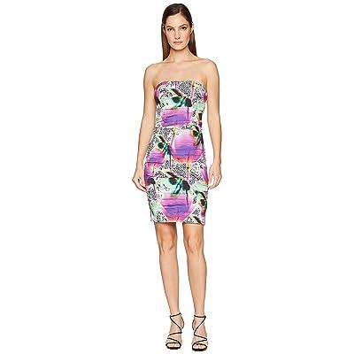 Nicole Miller Strapless Dress (Multicolored) Women